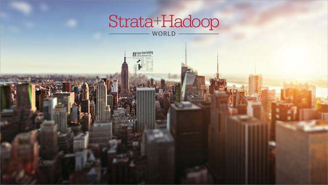 Strata + Hadoop World and view of city