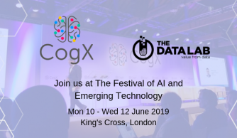 Join the Data Lab at CogX with Complimentary Tickets