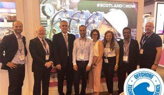 Fantastic visit with our Scottish delegation to OTC, Houston