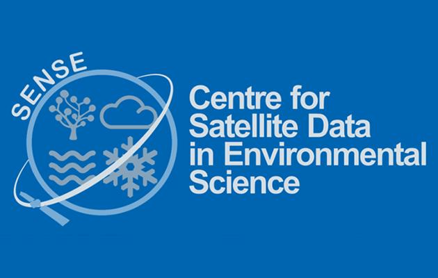 SENSE logo - Centre for Satellite Data in Environmental Science