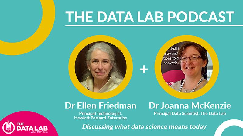 The Data Lab podcast - Dr Ellen Friedman and Dr Joanna McKenzie