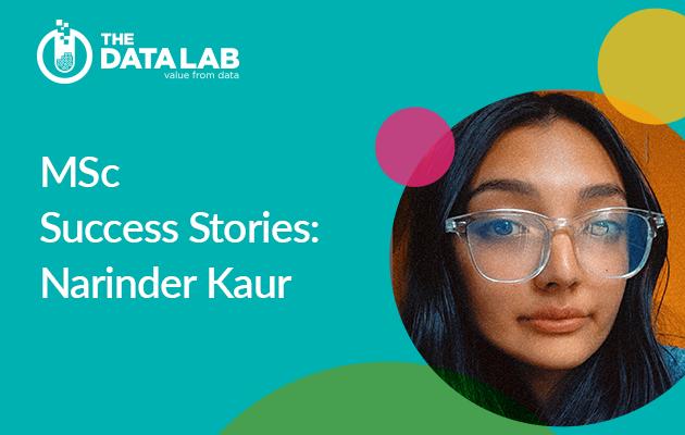 MSc success story Narinder Kaur